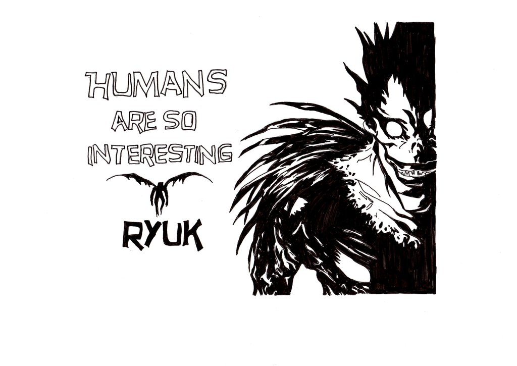 humans_are_so_interesting___ryuk_by_cathy416-d5m3yvs